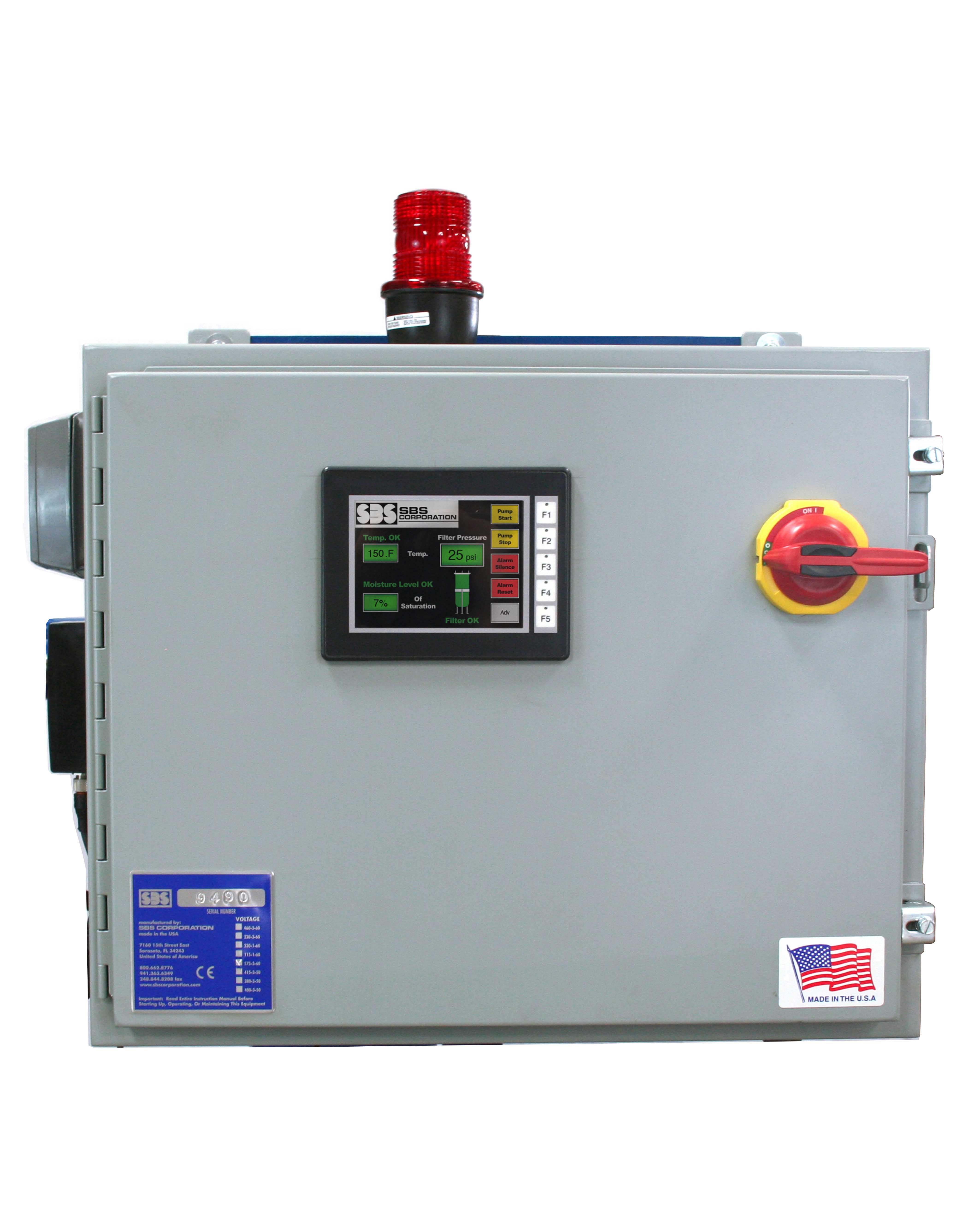 Aqua-Sense Control Panel