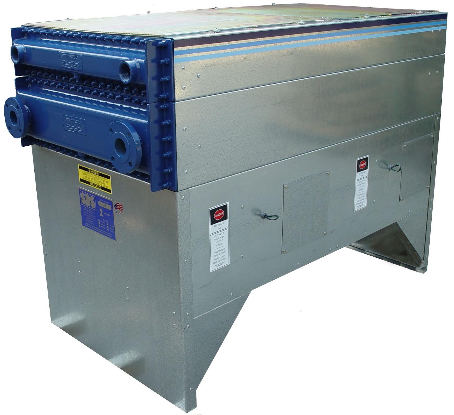 SBS quench oil cooler, quench air double decker