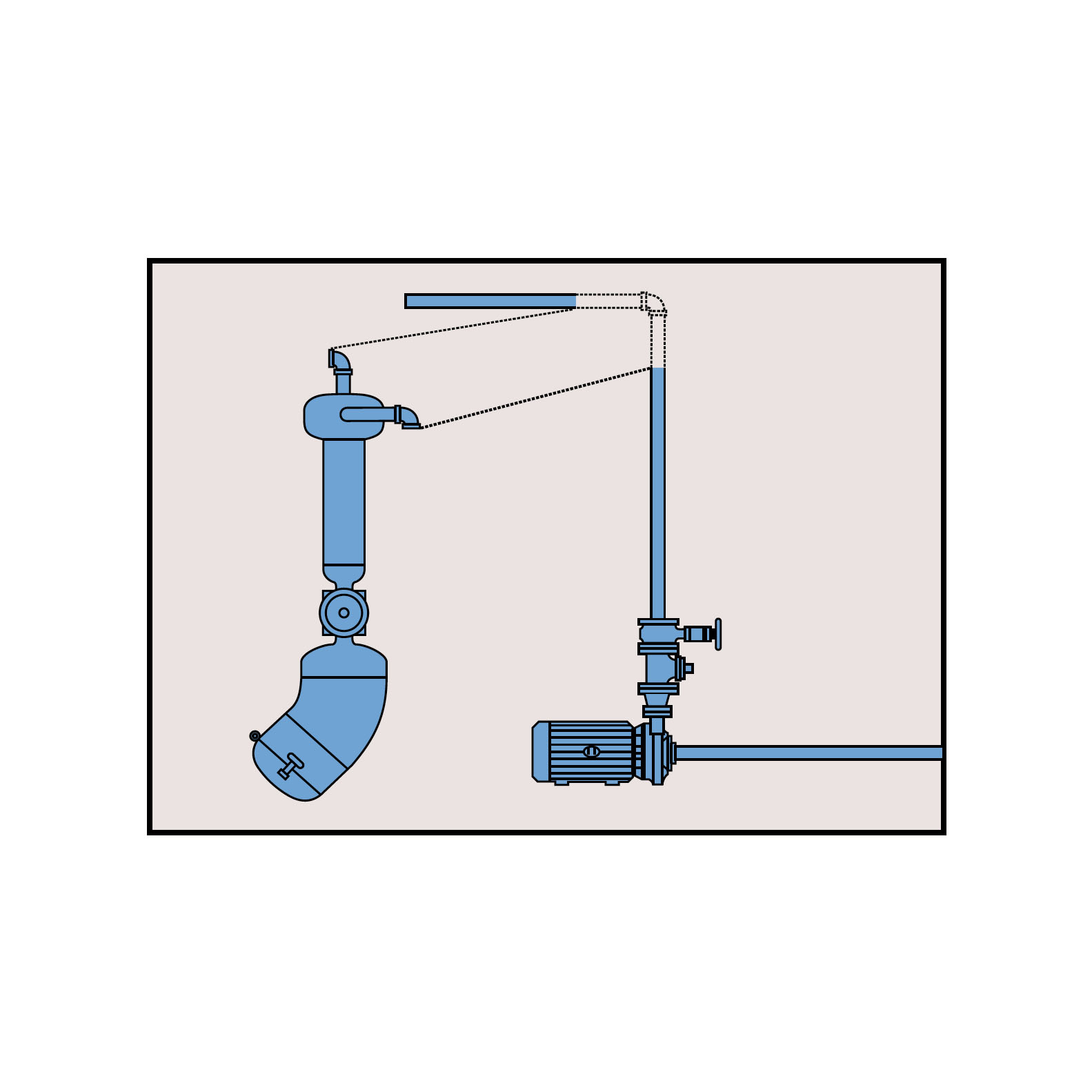 Sludgebuster Pipe Install